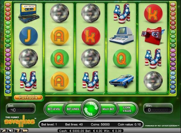 Автомат The Seventies: вернуться в прошлое за деньгами онлайн